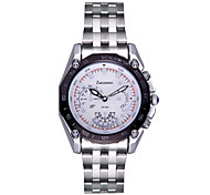 Men's Wrist watch Quartz Calendar Water Resistant / Water Proof Stainless Steel Band Luxury