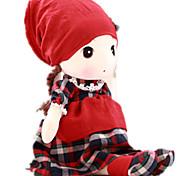 Недорогие -Мягкие игрушки Куклы Кукла для девочек Игрушки Новинки Мультяшная тематика Люди Милый стиль Большой размер Девочки Куски