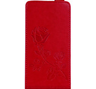 cheap -Case For Huawei Redmi Note 4 Redmi 4X Card Holder Wallet with Stand Flip Magnetic Pattern Embossed Full Body Cases Flower Hard PU Leather