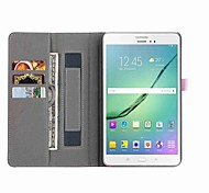cheap -Case For Tab S 8.4 Samsung Galaxy Tab A 8.0 Tab S2 8.0 Tab E 8.0 Tab A 8.0 Card Holder Wallet with Stand Auto Sleep/Wake Up Full Body