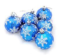 6pcs Christmas Decorations Christmas OrnamentsForHoliday Decorations 18*6*12