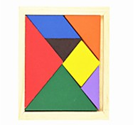cheap -Tangram Wooden Puzzles Geometric School School/Graduation Family Children's Gift