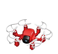 preiswerte -RC Drohne FQ777 FQ777-126C 4 Kanäle 6 Achsen 2.4G Mit 2.0MP HD - Kamera Ferngesteuerter Quadrocopter LED - Beleuchtung Ein Schlüssel Für