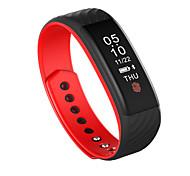 w810 pulseira inteligente suporte pedômetro faixa de rastreamento de ritmo cardíaco para Android smartphone io