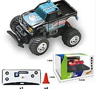Недорогие -Машинка на радиоуправлении 8024 Гоночный багги Монстр грузовик Дрифт-авто 4WD Внедорожник 40 КМ / Ч Пульт управления Перезаряжаемый