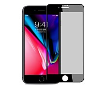 Screen Protector for Apple iPhone 8 Plus Tempered Glass 1 pc Full Body Screen Protector Explosion Proof Scratch Proof Privacy Anti-Spy 3D