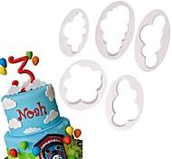 Недорогие -Формы для пирожных Новинки Повседневное использование Пластик Инструмент выпечки