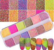 cheap -1set Fashionable Jewelry Sparkle & Shine Accent/Decorative Nail Glitter Glitter Powder Powder Nail Art Tips Nail Art Design