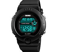 Недорогие -Жен. электронные часы Спортивные часы Наручные часы Японский Цифровой Будильник Календарь Секундомер Защита от влаги Хронометр PU Группа