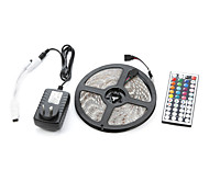 cheap -300 LEDs RGB Remote Control / RC Cuttable Dimmable Waterproof Linkable Suitable for Vehicles Self-adhesive Color-Changing AC 100-240V V