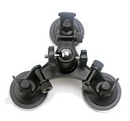 economico -Action cam / Sport cam Kit Accessori generali Alta velocità Tipo Cupula Nero Adatto per veicoli Per Videocamera sportiva Gopro 6 Tutte le