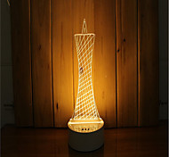 1 Set Of 3D Mood Night Light Hand Feeling Dimmable USB Powered Gift Lamp Lighthouse