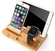 Watch Stand for Apple Watch Series 1 2 Ipad Iphone 7 6 plus 5 5s 5c  Wooden Stand All-In-1 38mm / 42mm With a Cable
