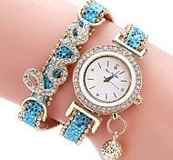 cheap -Women's Kid's Fashion Watch Simulated Diamond Watch Unique Creative Watch Chinese Quartz Chronograph Water Resistant / Water Proof Casual