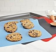 Недорогие -Маты и вкладыши для выпечки Прямоугольный Повседневное использование Для приготовления пищи Посуда Многофункциональный силикагель