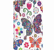 cheap -Case For Full Body Cases Tablet Cases Pattern Patterned Black & White Hard PU Leather for
