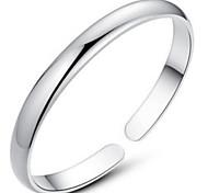 Недорогие -Жен. Браслет цельное кольцо Стерлинговое серебро Бижутерия Новогодние подарки Свадьба Для вечеринок Повседневные