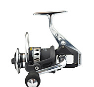 cheap -SHISHAMO Full Metal Body 4.7:1, 12+1 Ball Bearings with One Way Clutch Spinning Reel, Left & Right Hand Exchangble