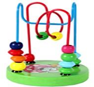 Недорогие -Образовательные игры с карточками Обучающая игрушка Игрушки Круглый Школа/выпускной Для детской деревянный Куски
