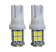 cheap -LORCOO 2pcs T10 Car Light Bulbs 2W W 40lm lm LED Interior Lights