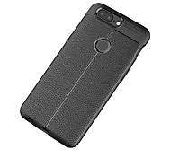 Недорогие -Кейс для Назначение OnePlus Один плюс 3 5 Матовое Рельефный Кейс на заднюю панель Сплошной цвет Мягкий ТПУ для One Plus 5 OnePlus 5T One