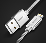 cheap -Lightning USB Cable Adapter Quick Charge Cable For iPhone 100 cm Zinc Alloy Nylon