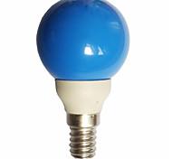 economico -0.5W 15-25lm E14 Lampadine globo LED G45 7 Perline LED Capsula LED Blu 100-240V
