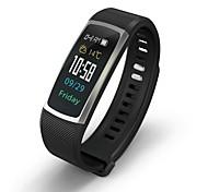 Недорогие -Умный браслет Bluetooth Израсходовано калорий Сенсорный датчик Измерение кровяного давления Контроль APP Импульсный трекер Педометр
