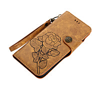cheap -Case For Samsung Galaxy S8 Plus S8 Card Holder Wallet with Stand Flip Magnetic Pattern Full Body Cases Flower Hard PU Leather for S8 Plus