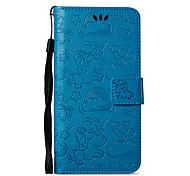 Недорогие -Кейс для Назначение Nokia Nokia 8 Nokia 6 Бумажник для карт Кошелек со стендом Флип С узором Чехол единорогом Твердый Искусственная кожа