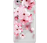 cheap -Case For Apple iPhone 8 iPhone 8 Plus iPhone 6 iPhone 6 Plus iPhone 7 Plus iPhone 7 Pattern Embossed Back Cover Flower Cartoon Soft TPU