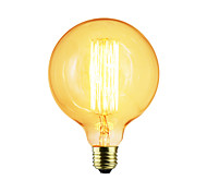 cheap -1pc 40 W E26 / E27 / E27 G125 Warm White Incandescent Vintage Edison Light Bulb 220-240 V / 110-130 V