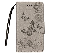 cheap -Case For Huawei Card Holder Wallet with Stand Flip Embossed Full Body Butterfly Hard PU Leather for Mate 10 Mate 10 lite Mate 9