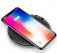 cheap -Wireless Charger USB Charger USB Wireless Charger / Qi 1 USB Port 1 A iPhone 8 Plus / iPhone 8 / S8 Plus