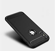 abordables -Coque Pour Apple iPhone X iPhone 8 iPhone 8 Plus Coque iPhone 5 iPhone 6 iPhone 6 Plus iPhone 7 Plus iPhone 7 Dépoli Coque Couleur unie
