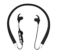 cheap -MS-T10 Neck Band Wireless Headphones Dynamic Plastic Sport & Fitness Earphone with Volume Control with Microphone Headset