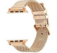 Недорогие -Ремешок для часов для Apple Watch Series 3 / 2 / 1 Apple Современная застежка Нержавеющая сталь Повязка на запястье