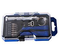 Недорогие -Сотовый телефон Набор инструментов для ремонта Всё в одном Отвертка Присоска Пластмасса / Stianless Steel Pry Выталкивающая шпилька для