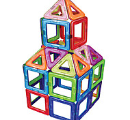 cheap -Magnetic Blocks Toys Round Square Classic Theme Hand-made Transformable ABS Boys Girls 30 Pieces