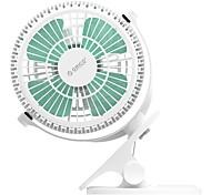 Недорогие -orico uf2 usb вентилятор мини-электрический вентилятор с поворотным переключателем ключа - белый