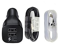 cheap -Car Charger Phone USB Charger Universal Charger Kit Multi Ports 2 USB Ports 3.1A For Cellphone