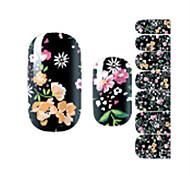 cheap -1pcs Nail Sticker Nail Stamping Template Nail Art Design Nail Decals