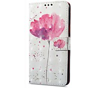 cheap -Case For Xiaomi Redmi Note 5A Redmi Note 4X Card Holder Wallet with Stand Flip Magnetic Pattern Flower Hard for