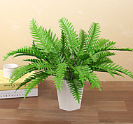 cheap -1 Branch Plastic Plants Tabletop Flower Artificial Flowers