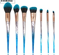 cheap -7 pcs Foundation Brush Powder Brush Lip Brush Eyeshadow Brush Blush Brush Makeup Brush Set Synthetic Hair Nylon Professional Soft Travel