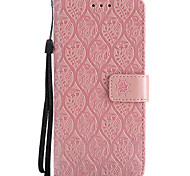cheap -Case For Samsung Galaxy S8 Plus S8 Card Holder Wallet with Stand Flip Embossed Full Body Cases Flower Hard PU Leather for S8 Plus S8 S7