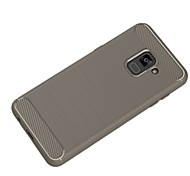 cheap -Case For Samsung Galaxy A8 2018 A8 Plus 2018 Ultra-thin Solid Color Soft for