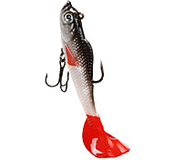 cheap -4 pcs Soft Bait Jigs Fishing Lures Fishing Hooks Jig head Soft Jerkbaits Shad Jig Head Jigs Soft Bait Soft Plastic Lead Silicon Sea