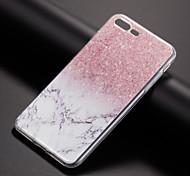 Недорогие -Кейс для Назначение Apple iPhone X iPhone 8 Кейс для iPhone 5 iPhone 6 iPhone 7 С узором Кейс на заднюю панель Мрамор Мягкий ТПУ для