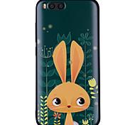 cheap -Case For Xiaomi Mi 6 Mi 5X Pattern Back Cover Rabbit/Bunny Soft Silicone for Xiaomi Mi 6 Xiaomi Mi 5X Xiaomi A1